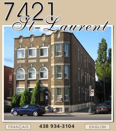 7421 saint laurent chambre a louer logement for Chambre a louer quebec